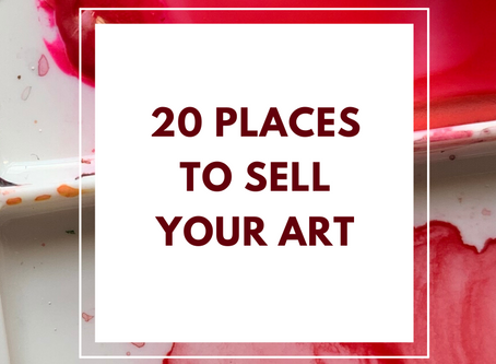 20 Places to Sell Your Art