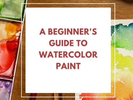 A beginner's guide to watercolor paint