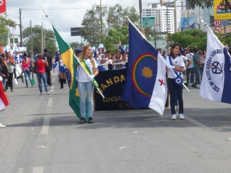 Destra informa itinerário do desfile cívico de 7 de setembro