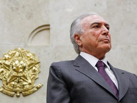 Leitura de denúncia contra o presidente Michel Temer pode ser feita hoje