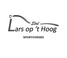 Logo Stal Lars op 't Hoog Sporthorses kl