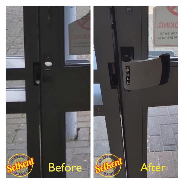 new door handle for flat door swanley orpington dartford