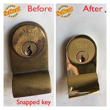 broken key swanley