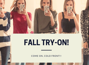 Fall-Focused Try On!