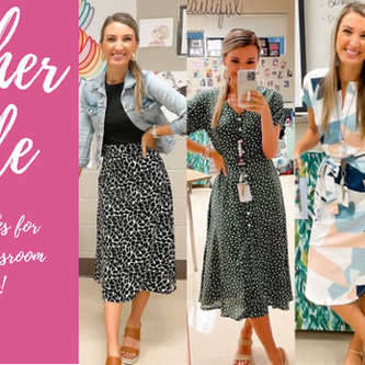 Teacher Style- Midi Skirts/Dresses!