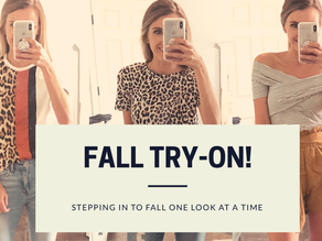 Stepping into Fall Haul