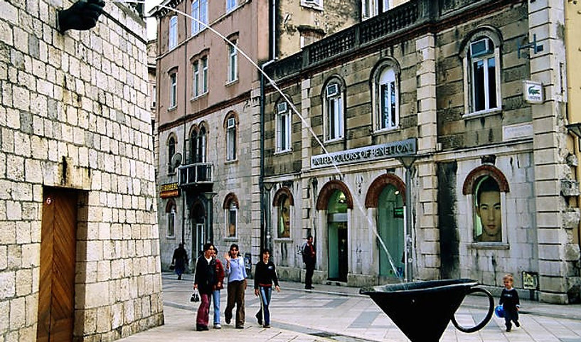 Split Walking Tour Croatia Marmontova ulica