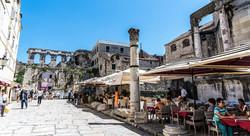 Classic Diocletian palace Split walking tour  (13)