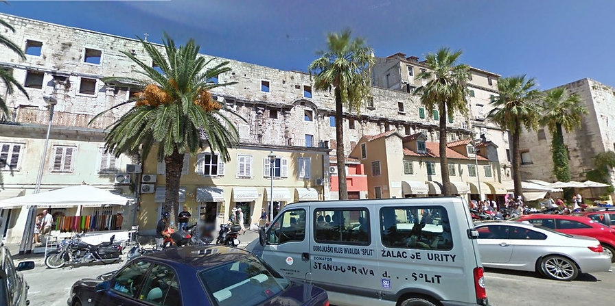Diocletian's Palace Southern Walls Free Split Walking Tour