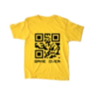 QRCode Tee Yellow