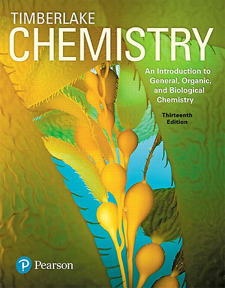 Chemistry: An Introduction to General, Organic, and Biological Chemistry, 13th E