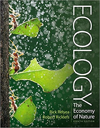 Ecology The Economy of Nature 8th Edition