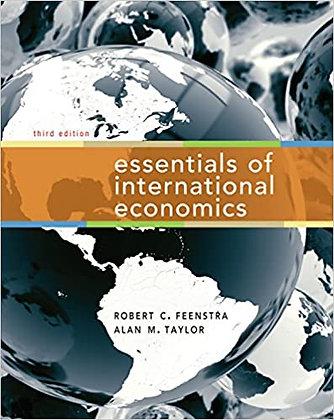Essentials of International Economics 3rd Edition