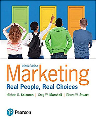 Marketing Real People Real Choices 9th edition