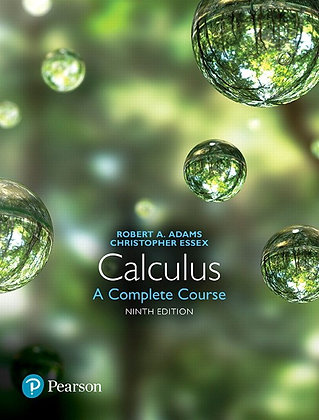 Calculus A Complete Course 9th edition by Robert A. Adams and Christopher Essex