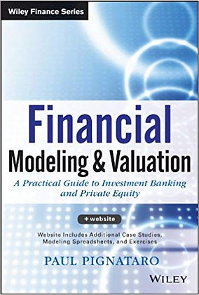 Financial Modeling and Valuation 1st Edition 2013