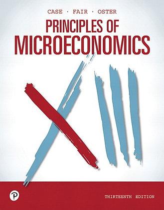 Principles of Microeconomics, 13th Edition