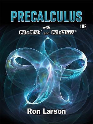 Precalculus by Ron Larson (2017)