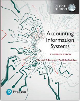 Accounting Information Systems 14th Global Edition