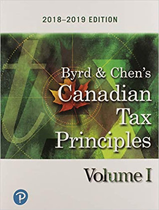 Byrd & Chen's Canadian Tax Principles