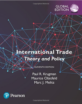 International Trade Theory and Policy 11th Global edition