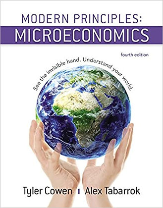 Modern Principles of Microeconomics 4th edition