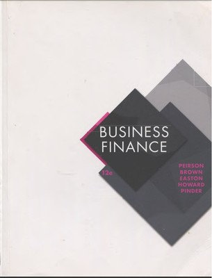 Business Finance 12th Edition Grdham Peirson Rob