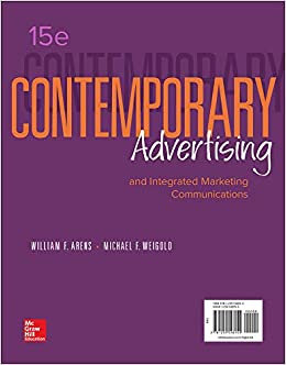 Contemporary Advertising 15th Edition by Arens