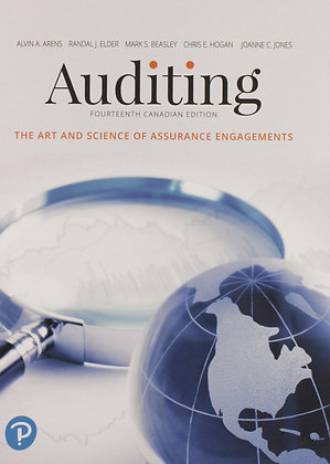 Auditing The Art and Science of Assurance Engagements 14th edition