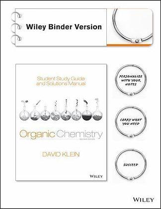 Organic Chemistry 2nd edition by David R. Klein (2014)