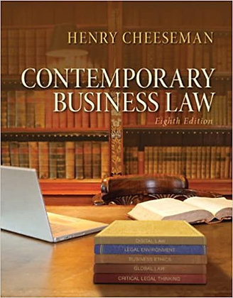 ontemporary Business Law8th Edition by Henry R. Cheeseman