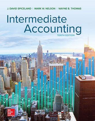 Intermediate Accounting 10th edition David Spiceland