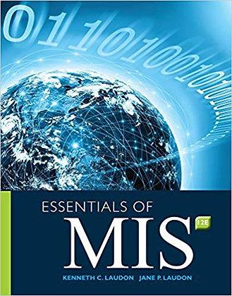 Essentials of MIS (12th Edition)