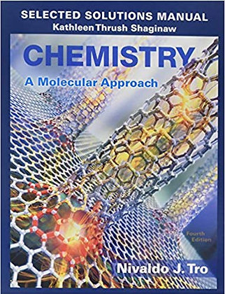 Chemistry A Molecular Approach (4th Edition) 4th Edition