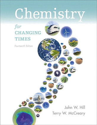 Chemistry For Changing Times 14th Global Edition