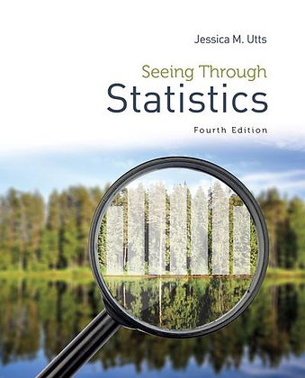 Seeing Through Statistics 4th edition by Jessica M Utts