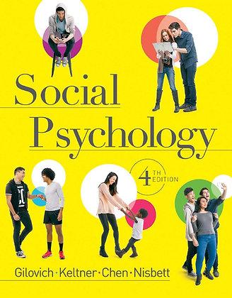 Social Psychology 4th Edition Thomas Gilovich