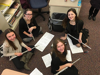 Flute sectional coaching