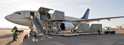 Air freight is the quickest way to move goods around the world. Planes can get goods from one side of the planet to another within a matter of days.  When you add door service and customs clearance on each end, total transit time door to door can range from 2 to 5 days depending on ​  ​