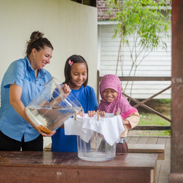 "P&G ""Woman in Science"" and Water Mission Collaborate to Bring Clean Water To Those in Need"