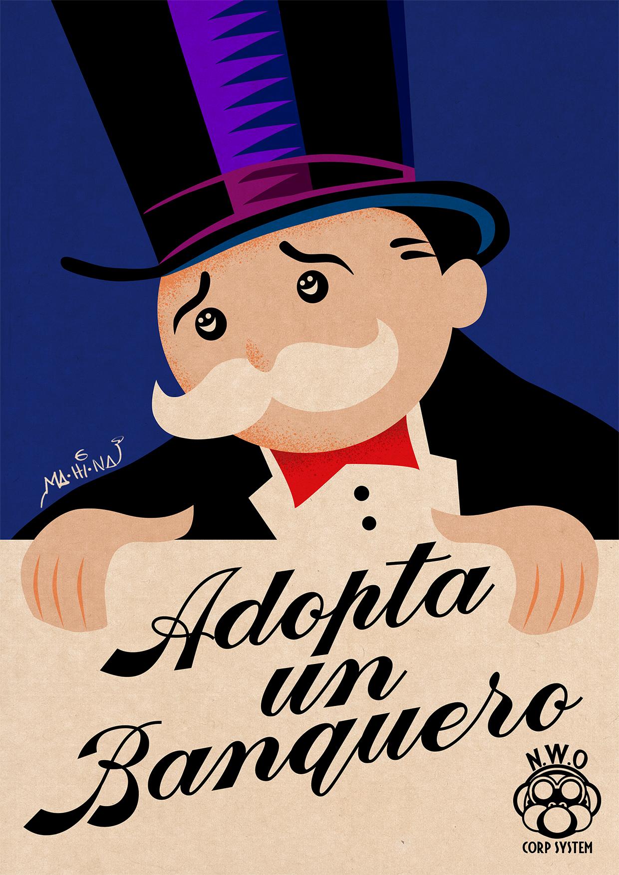 Adopta un banquero