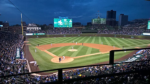 The Chicago Cubs Wrigley Field