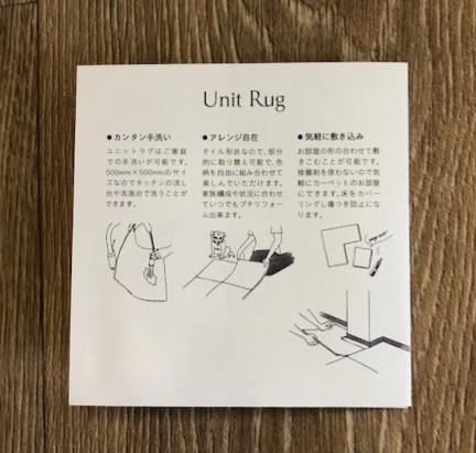 Unit Rug