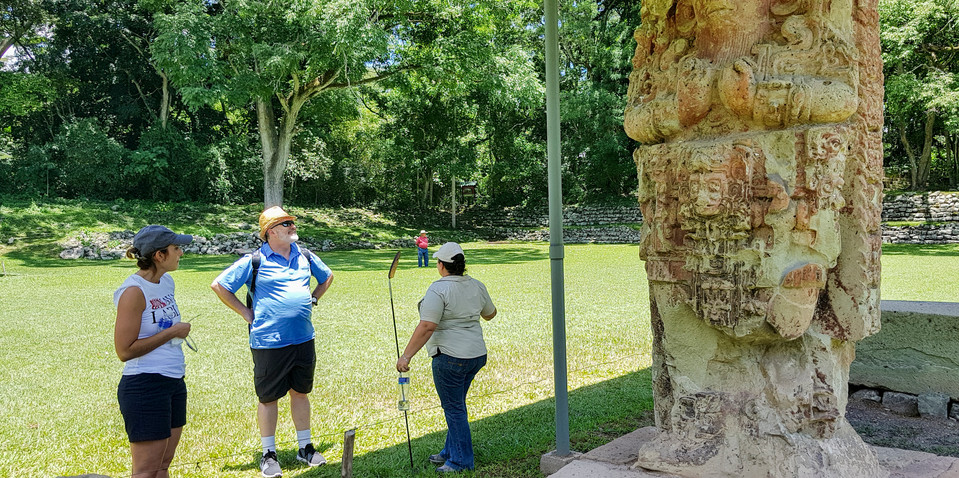 Mayan Ruins of Copan, Honduras.