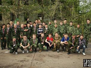 В Саранске прошел первый юниорский чемпионат по лазертагу!