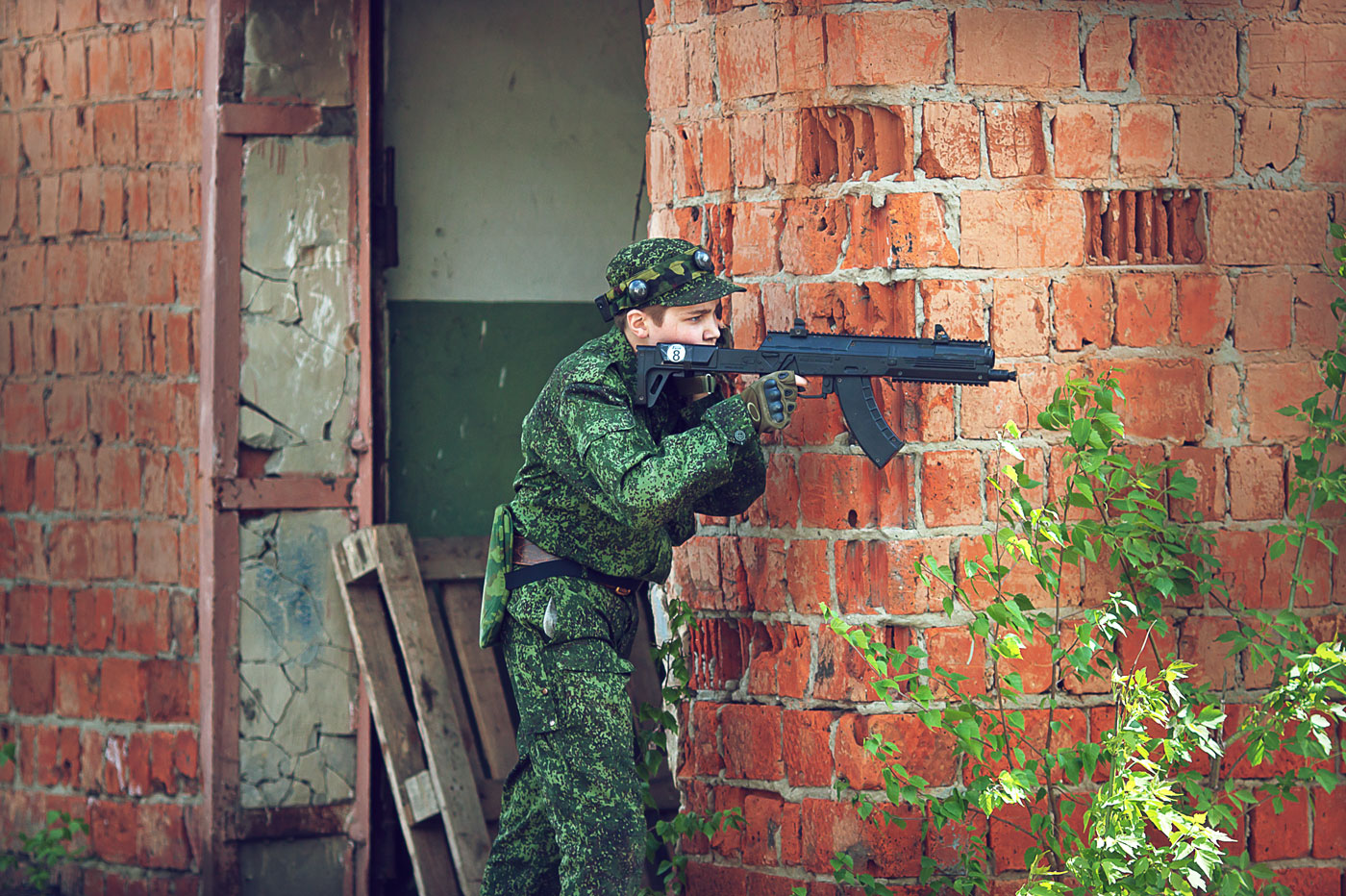 Лазертаг в Нижнем Новгороде