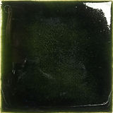 dark transparent green  handmade ceramic