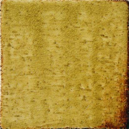 Ocher handmade ceramic tiles