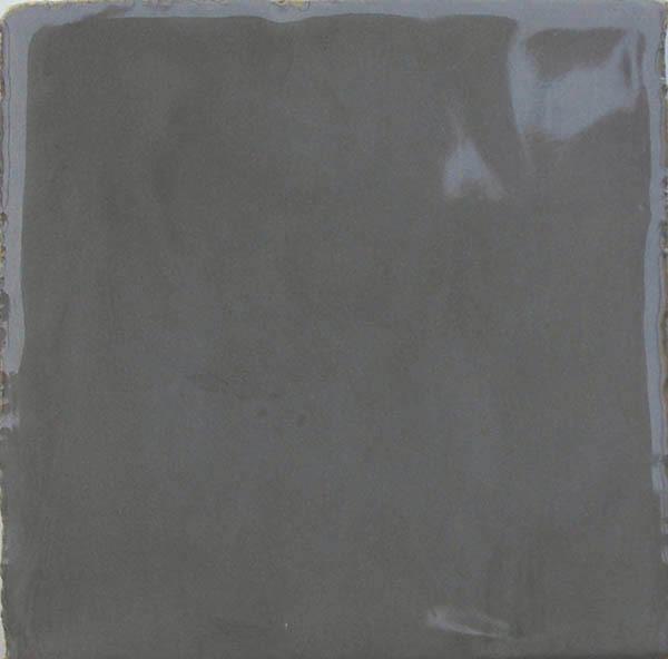 Gray Glossy IV handmade ceramic tiles