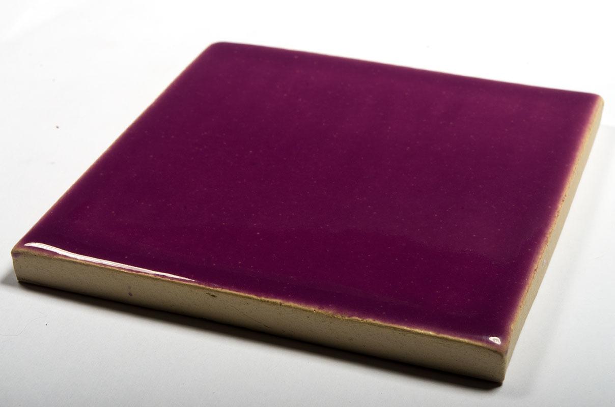 Lilac Flower handmade tiles